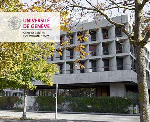 University of Geneva's Centre for Philanthropy.