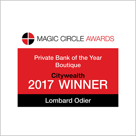 Lombard Odier Wins 'Private Bank of the Year - Boutique' at the Magic Circle Awards