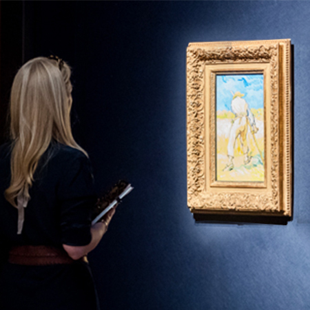 An evening of Masterpieces at Christie's