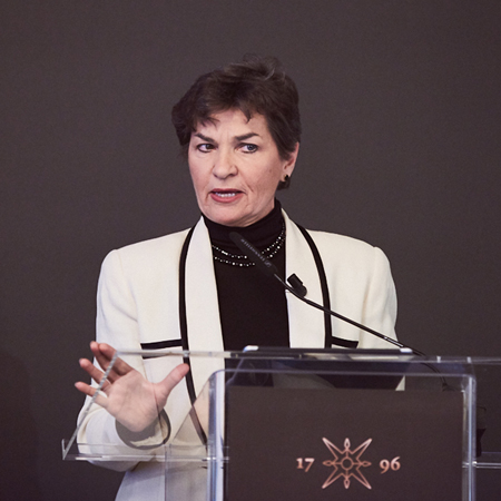Q&A with Christiana Figueres on sustainability - Rethink Responsible Capital