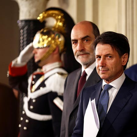 Italy's political newcomer fails to reassure