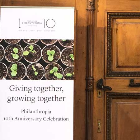 Giving together, growing together with Fondation Philantropia