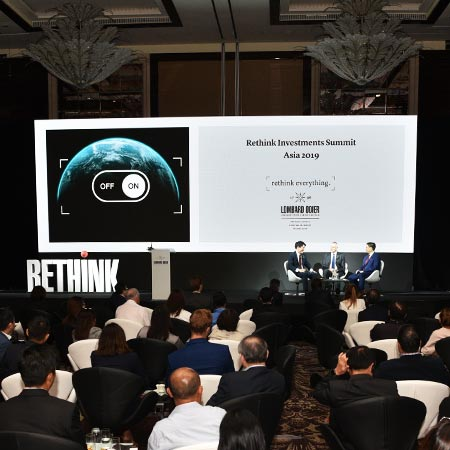 Sustainably navigating investors - Lombard Odier's inaugural Rethink Investments Summit Asia