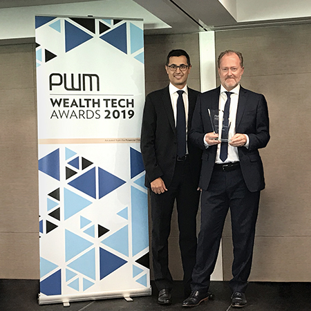 Lombard Odier's Wealth Technology Wins Global Industry Award