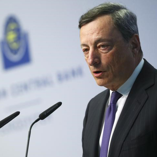 Draghi led ECB is operating under a persistence, patience and prudence driven framework