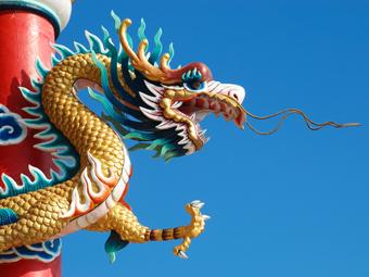 China's policy stimulus.