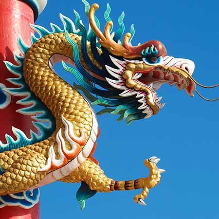 Stützungsmassnahmen in China sollen den Wachstumsrückgang in Grenzen halten.